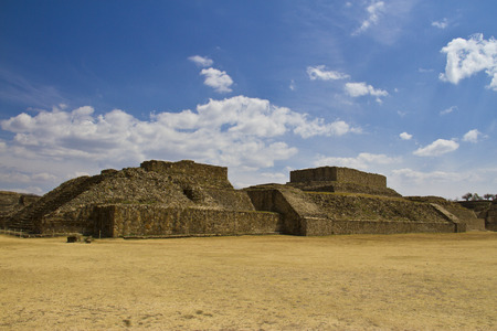 Monte Alban site, Oaxaca, Mexico photo