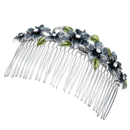 hairpin: beautiful metall hairpin on a white