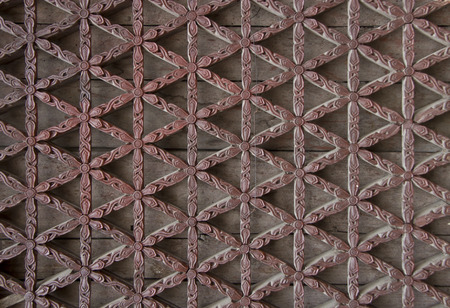 lattice: window lattice made from carved wood