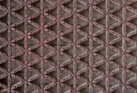 lattice window: window lattice made from carved wood