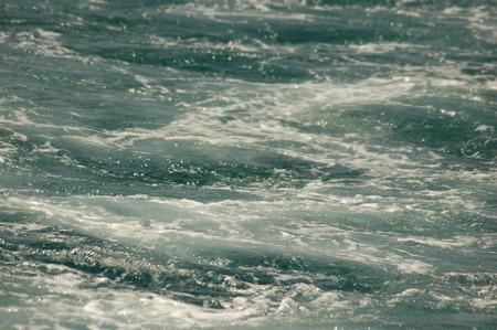 foamed: foamed blue water background