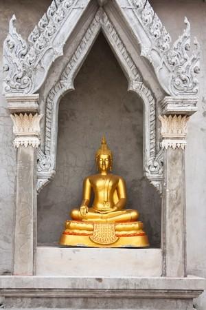 Thai Buddha images. photo