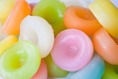 sweet foods: Thai dessert colorful.