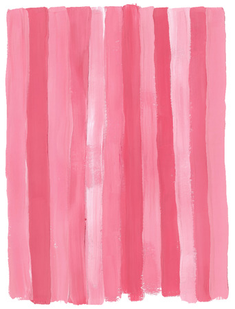 gouache: Pink gouache vector background. Hand-painted background