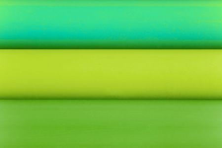 hues: Horizontal color stripes. Green hues. Stock Photo