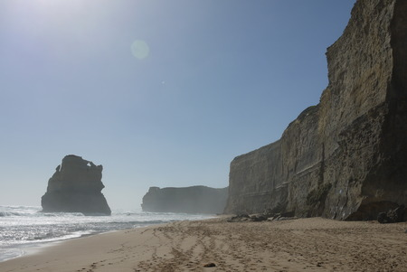 apostles: twelve apostles from the beach Stock Photo