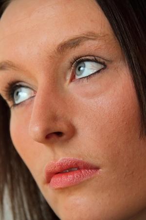 Face of Beautiful Model