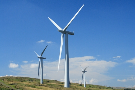 Wind Turbines Stock Photo - 9685864