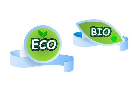 Eco friendly label Çizim