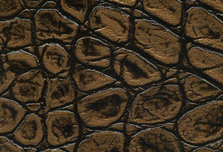 gold and black crocodile leathet texture photo