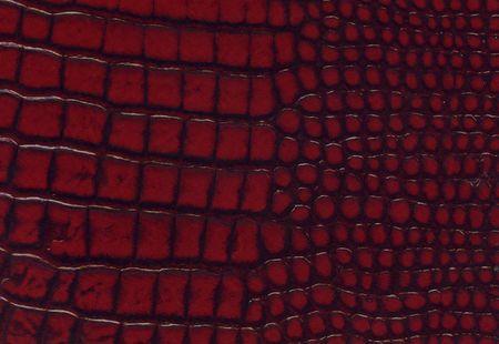 imitation leather: crocodile red leather texture