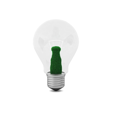 3d render of bulb photo