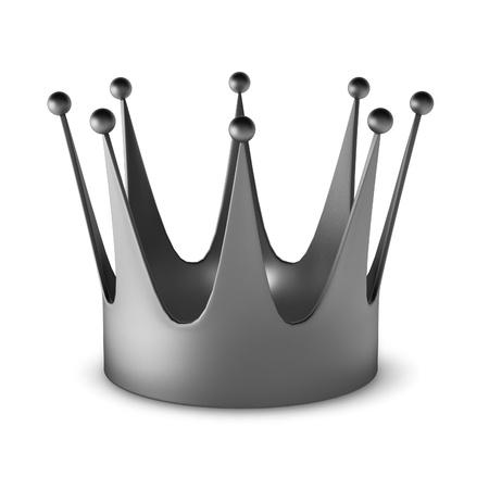 3d render of crown