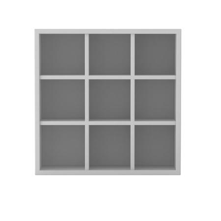 3d render of book shelf Stock Photo - 9295906
