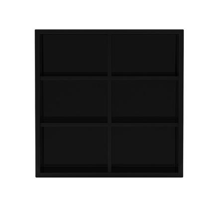 3d render of black shelf Stock Photo - 9295892