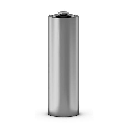 durability: 3d render of battery Stock Photo