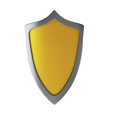 3d render of shield Stock Photo - 9406142