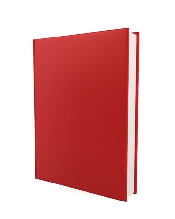Blank book. 3d illustration on white background