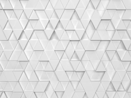 Abstract driehoekspatroon. 3d achtergrond Stockfoto