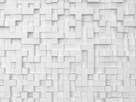 Abstract square background. 3d illustration
