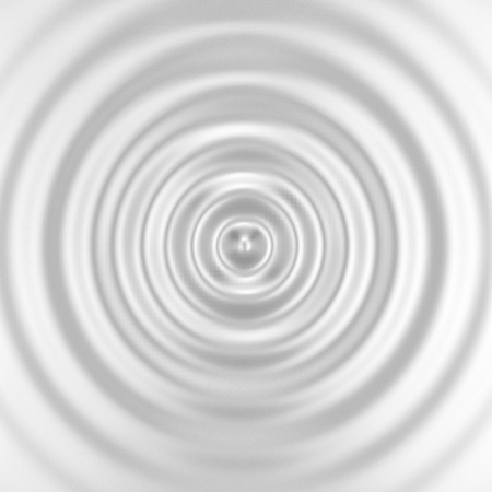Blank ripple effect. 3d background Stock Photo