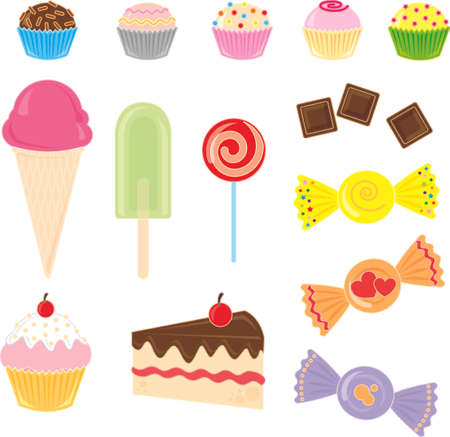Candies Collection Vector