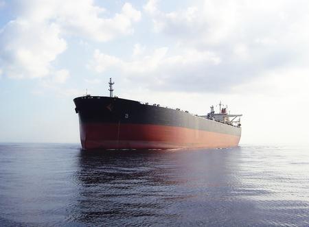 Olietanker Stockfoto