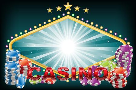 coordinated: Elegant Casino background
