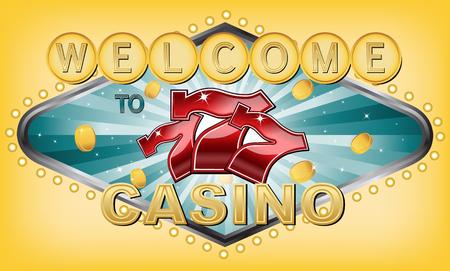 Triple 7 Casino Illustration