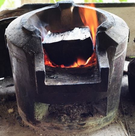 Clay stove Stock Photo - 21928065