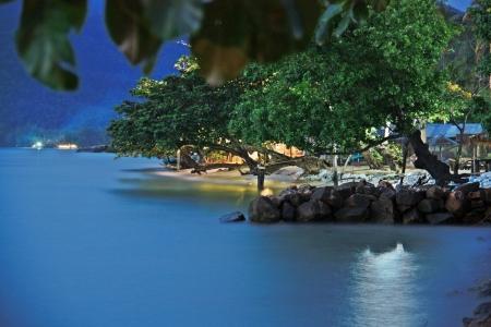 duskiness: Sea evening