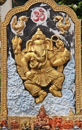 Ganesh statue photo