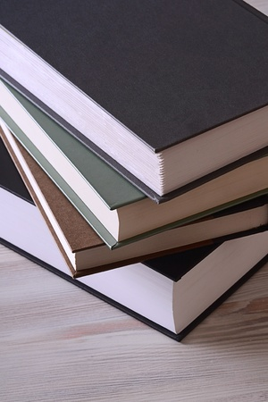Books on the table Stock Photo - 8517558