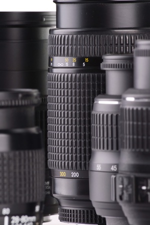 Composition with photo zoom lenses  photo