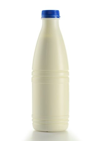 Bottle of milk isolated on white  Stock Photo - 9083078