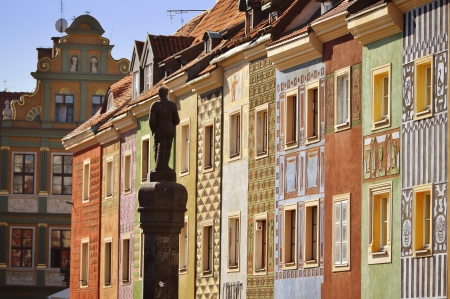 stary: Architecture of Old Market in Poznan, Poland