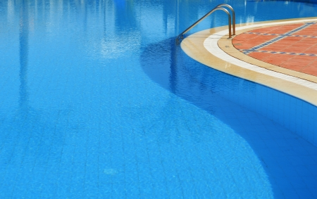 sharm el sheikh: Swimming pool in touristic resort during summer time