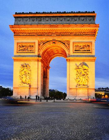 charles de gaulle: Arc de Triomphe de l