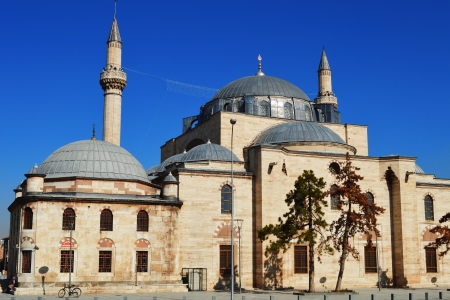 selimiye mosque: Selimiye Mosque in Konya, Turkey Stock Photo