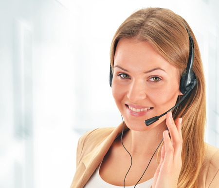 Call center operator  Customer support  Helpdesk   photo