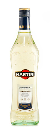 Martini a famous Italian vermouth is the world
