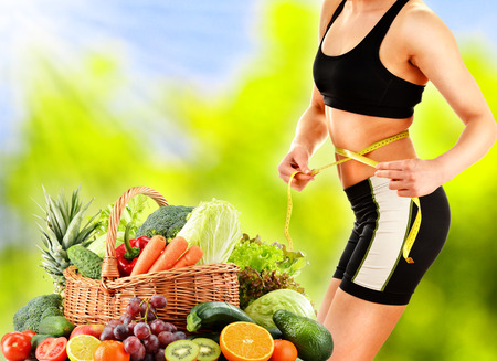 metabolism: Dieting  Balanced diet based on raw organic vegetables