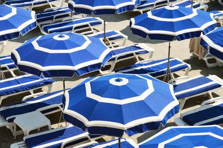 cote d'azure: Mediterranean beach during hot summer day
