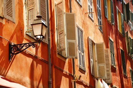 nice house: Old town architecture of Nice on French Riviera