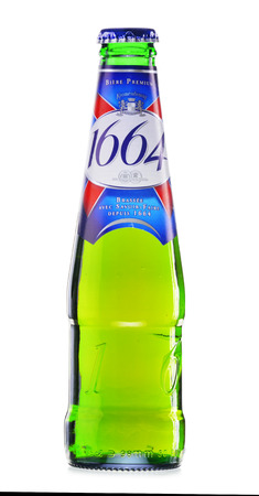 carlsberg: Kronenbourg 1664, a 5.5% pale lager is the main brand of Kronenbourg Brewery owned by the Carlsberg Group