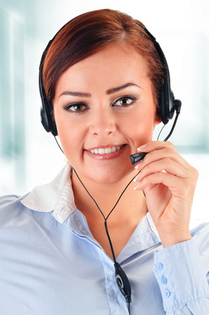 helpdesk: Call center operator. Customer support. Helpdesk.