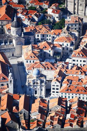 Architecture of Dubrovnik, Croatia. photo