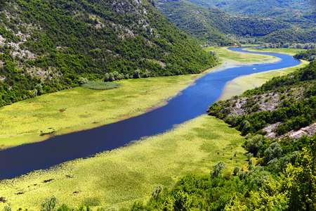 balkan peninsula: Skadarsko jezero, Montenegro, the largest lake in the Balkan Peninsula.
