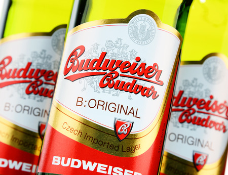 budweiser: Budweiser Budvar one of the Highest-selling beers in the Czech Rep. exported into more than 60 countries, produced in Ceske Budejovice that Budweiser Budvar Brewery