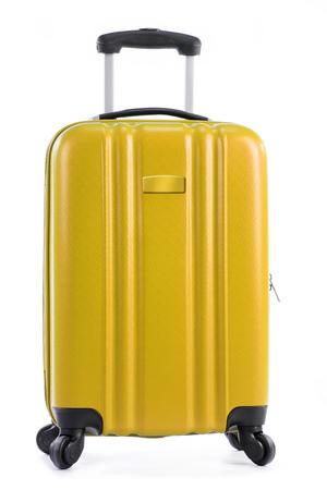 travel bag: Travel suitcase isolated on white background.